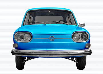 VW 411 in light blue von aRi F. Huber