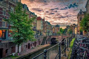 Vismarkt,Utrecht. van