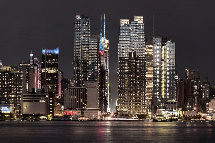 Midtown Manhatten  im Abendlicht van Kurt Krause