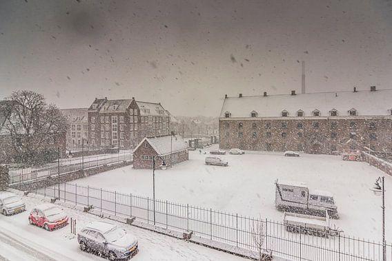 Winter in Bergen op Zoom