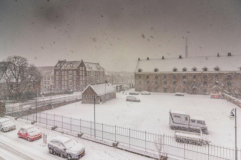 Winter in Bergen op Zoom van Stefan Fokkens