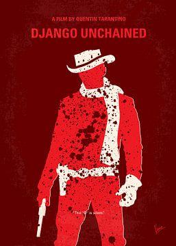 Nr. 184 Mein Django befreit minimales Filmplakat von Chungkong Art