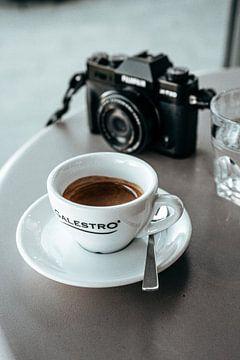 koffiepauze van Orlando Rizzuti