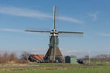 Boterslootse molen in Noordeloos van Beeldbank Alblasserwaard
