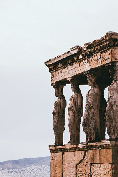 Griekse beelden Athene van Jessie Jansen