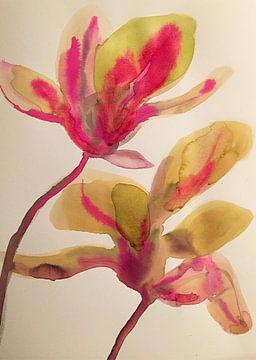 Magnolia Magnifica von Helia Tayebi Art
