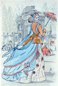 Mode 1868, Mode in het negentiende-eeuwse Parijs, Henri Boutet, (1851 1919)