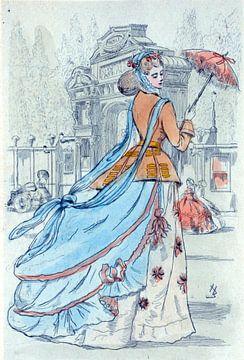 1868, Women's fashion in nineteenth-century Paris, Boutet, Henri (1851-1919), (Artist), 1902 sur