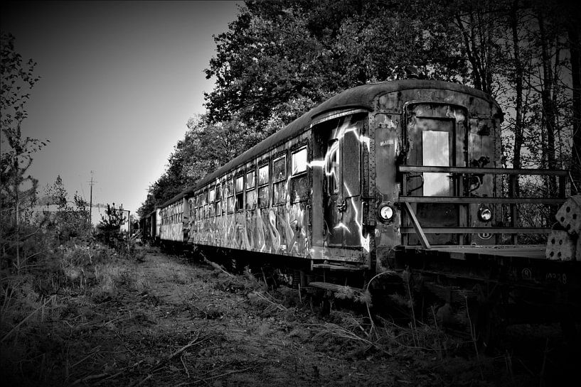 Alter Zug von Joel Houbrigts