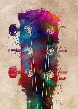 Gitaar 14 muziekkunst #gitaar #muziek van JBJart Justyna Jaszke