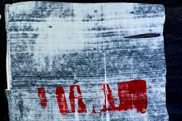 Abstraktion auf Papier ohne Grenzen von Jason King