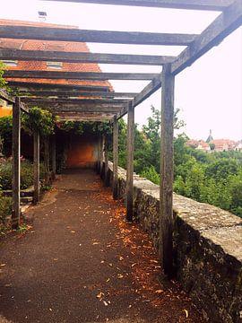 herrliche Aussicht ins Mittelalter-Rothenburg van Jokingly Kama