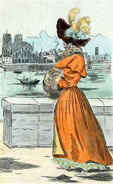 1830, Women's fashion in nineteenth-century Paris, Boutet, Henri (1851-1919), (Artist), 1902 sur