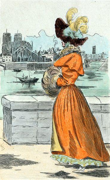 Mode 1830, Mode in het negentiende-eeuwse Parijs, Henri Boutet, (1851 1919) van Liszt Collection