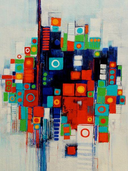 Farbspiel Nr.4 von Claudia Neubauer