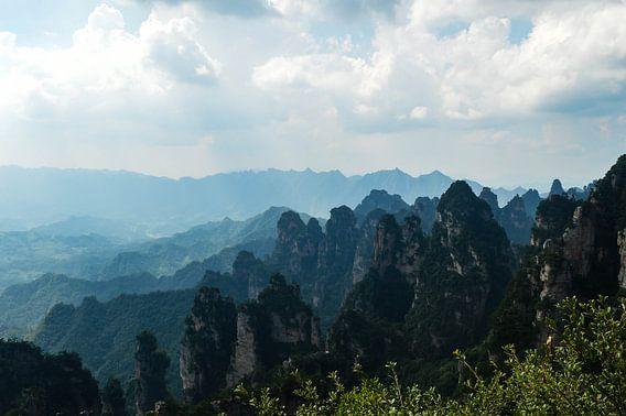 Uitzicht over de Avatar mountains