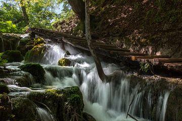 Plitvice Meren Waterval van Dennis Eckert