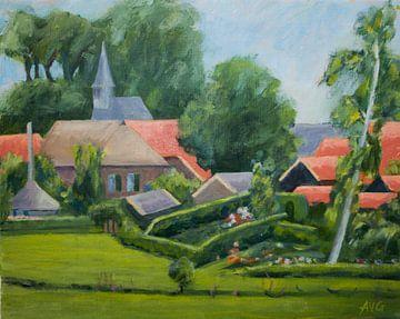 Bronckhorst Gelderland von Antonie van Gelder Beeldend kunstenaar