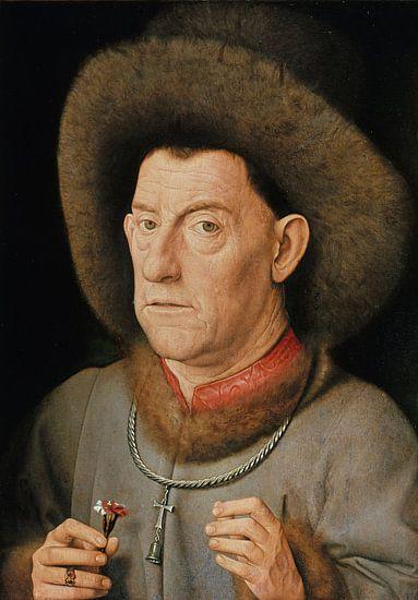 Jan van Eyck - Man met anjer
