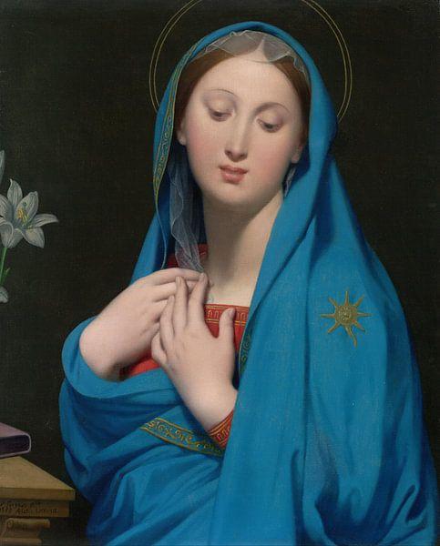 Jean-Auguste-Dominique Ingres. Maria van 1000 Schilderijen