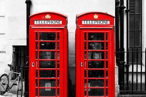 Britse telefooncel van