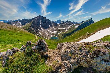 Panoramablick im Tannheimer Tal von MindScape Photography