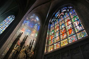Notre-Dame au Sablon, Brüssel von Sven Wildschut
