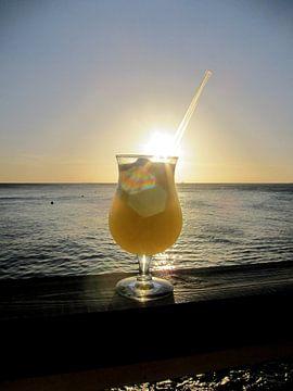Sonnenuntergang auf Curacao von