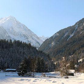 Friedvolle Winterlandschaft von Christiane Schulze