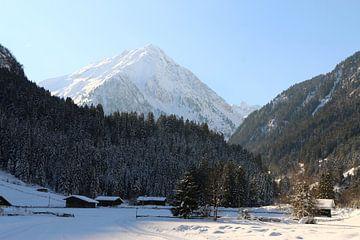 Friedvolle Winterlandschaft van Christiane Schulze