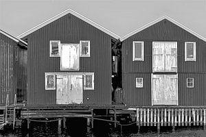 Hölzerne Ferienhäuser in Schweden
