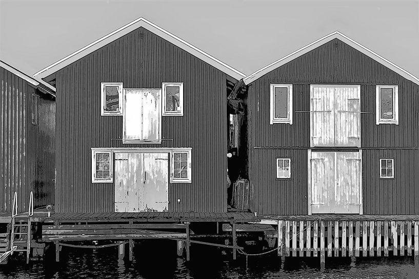 Hölzerne Ferienhäuser in Schweden von Mieneke Andeweg-van Rijn
