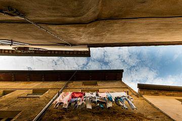 Wasgoed in Pienza sur Damien Franscoise