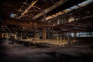 De verlaten sinterfabriek van