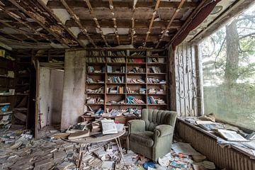 Verlassene Bibliothek von Matthis Rumhipstern