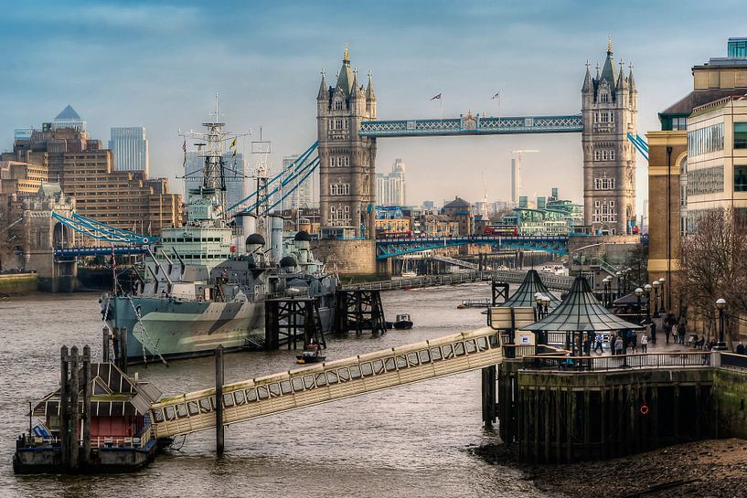 London Tower Bridge van Carina Buchspies