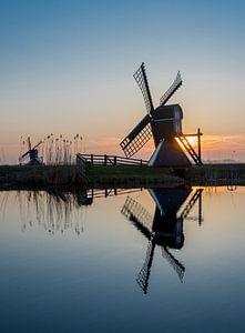 De molen en de reflectie