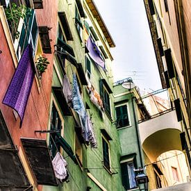 Straatbeeld in San Remo   van Gabsor Fotografie