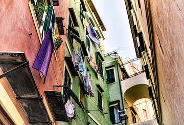 Straatbeeld in San Remo   van