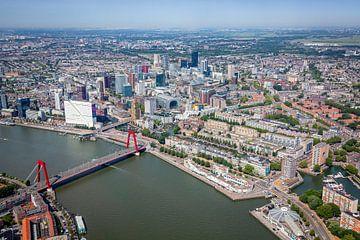 Rotterdam vue du ciel. sur ByOnkruud
