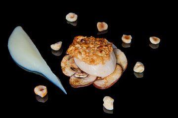 Coquille op een bedje van champignons von Henny Brouwers