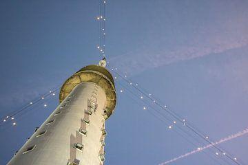 Gerbrandytoren IJsselstein - Kerstmis (Grootste Kerstboom) van Merijn van Schaik