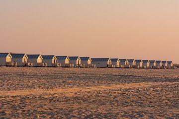 cabines de plage sur Tania Perneel