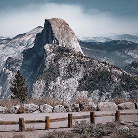 Half Dome in Yosemite National Park, Amerika van Daphne Groeneveld