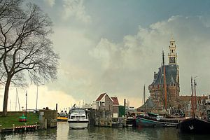 Stadsgezicht op Hoorn