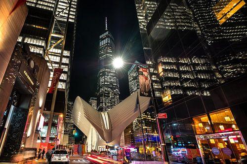 Oculus und One World Trade Center van