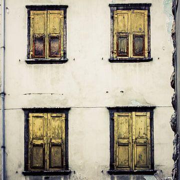 Vier luiken - Italië (kleur) van Rob van der Pijll