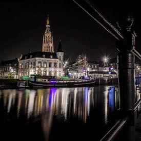 Breda by night - Spanjaardsgat van Ronald Westerbeek