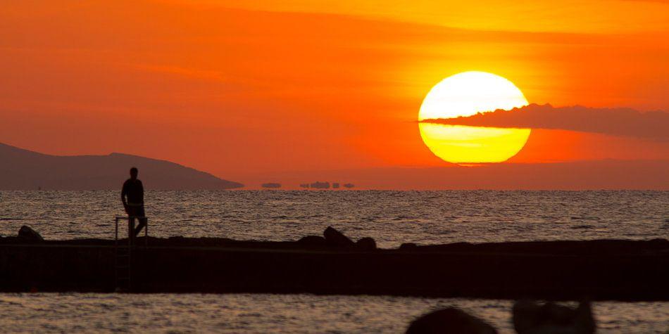 Zonsondergang op Kreta van Robert Westerhof