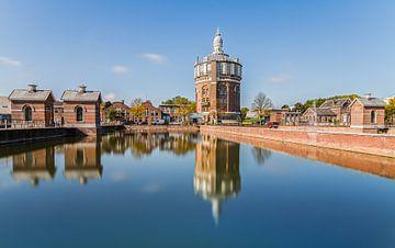Watertoren  De Esch in Rotterdam van
